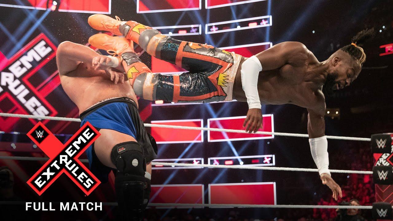 Download FULL MATCH - Kofi Kingston vs. Samoa Joe - WWE Title Match: WWE Extreme Rules 2019