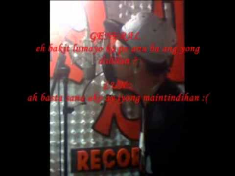 DI KO SINASADYA W LIRYCS GENERAL NG SAGPRO   LUN   YouTube 2