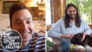Jonathan Van Ness Shares Quarantine Haircut Tips