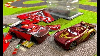 Disney Cars 3 Toys DiY Custom Next Gen Lightning McQueen made of Paper & Leftover boxes