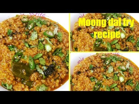 How to make simple moong dal fry