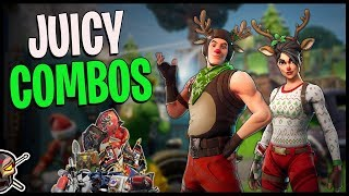 COMBOS You NEED with *RED-NOSED RAIDER* & *RED-NOSED RANGER* - Fortnite Cosmetics