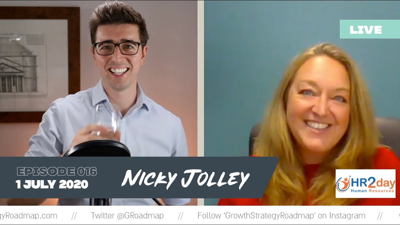 Surround yourself with good people. Nicky Jolley, HR2day