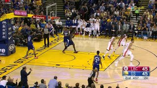 2nd Quarter, One Box Video: Golden State Warriors vs. LA Clippers