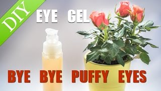 DIY EYE GEL FOR PUFFY EYES with aloe vera and hyaluronic acid Thumbnail