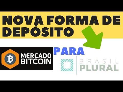 NOVA FORMA DE DEPOSITO NO MERCADO BITCOIN PARA O BANCO PLURAL 2019