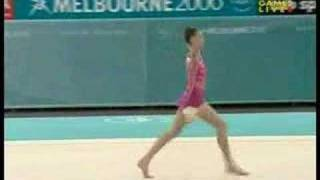 Melissa Logan 2006 Commonwealth Games Ball Team Final