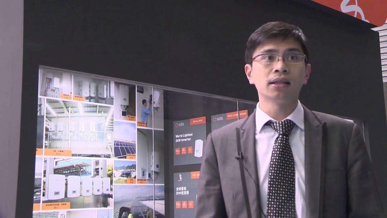 Ginlong Solis interview SNEC15