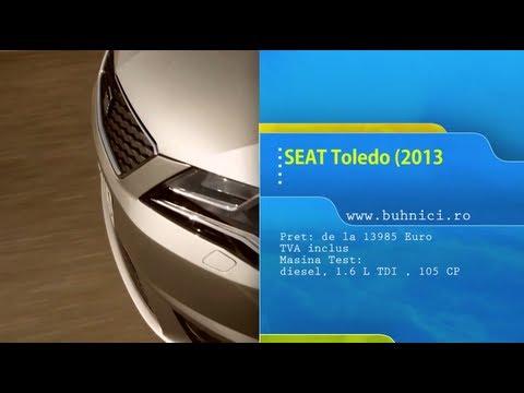 REVIEW - Seat Toledo 2013 (www.buhnici.ro)