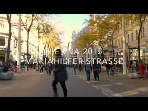 Mariahilfer Strasse Vienna - Negotiated Flow