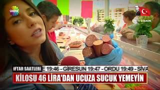Kilosu 46 Lira'dan ucuza sucuk yemeyin