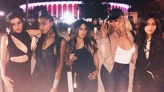 Fifth Harmony Reunite & Fangirl Over Rihanna At Her Anti Concert