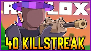 40 killstreak in 4 minutes... (Roblox Strucid)