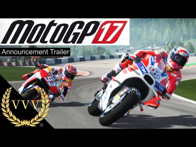 MotoGP 17 Announcement Trailer