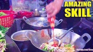 Amazing Skill - Street Food Compilation, Asian Street Food, Fast Food Street in Asia #293