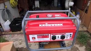 видео Бензиновый генератор 4 кВт