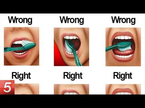 10 Ways to Brush Your Teeth (Life Hacks)