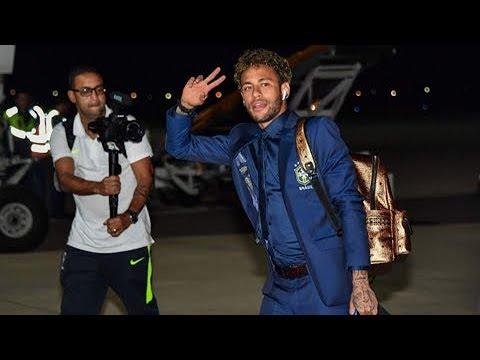 世界杯快讯 巴西队抵达索契 20180611 | CCTV 体育