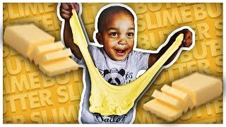 GIANT BUTTER SLIME | DIY EASY Butter Slime Methods | THE PRINCE FAMILY
