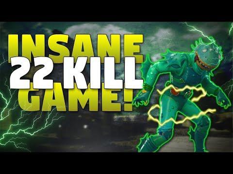 Insane 22 Kill Solo Squads Win! - Fortnite Battle Royale Gameplay