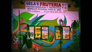 Gela's Fruteria Mural Install