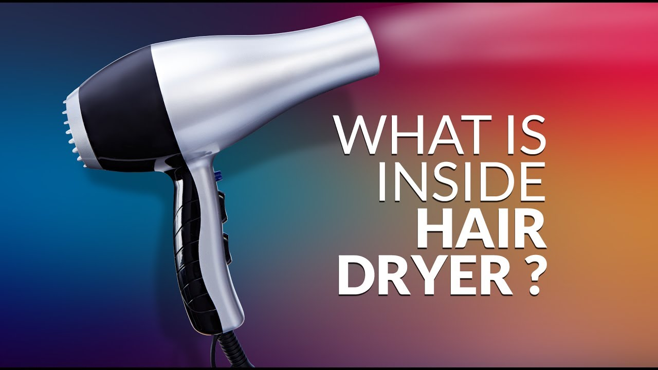 Hair Dryer Inside ~ What is inside hair dryer disassemble youtube