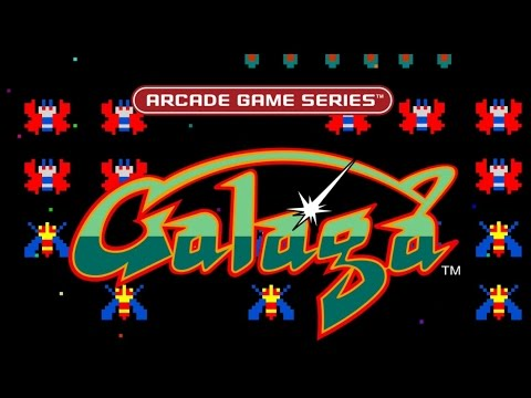 Arcade Game Series: Galaga Gameplay in HD 1080p (PS4)
