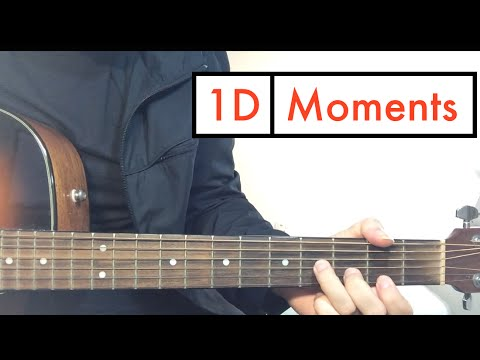 """""""Moments"""" - One Direction (Guitar Lesson) Tutorial"""