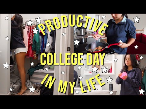 COLLEGE DAY IN MY LIFE | UNC Charlotte