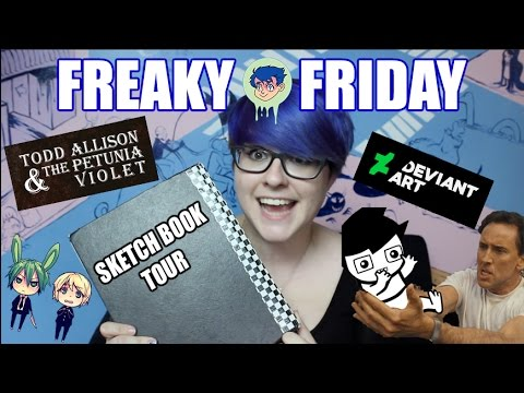 [FREAKY FRIDAY - 1] - Sketchbook Tour