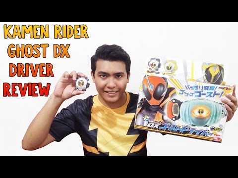 Kamen Rider Ghost DX Driver Review