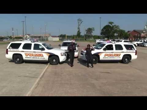 Goose Creek CISD Police - Running Man