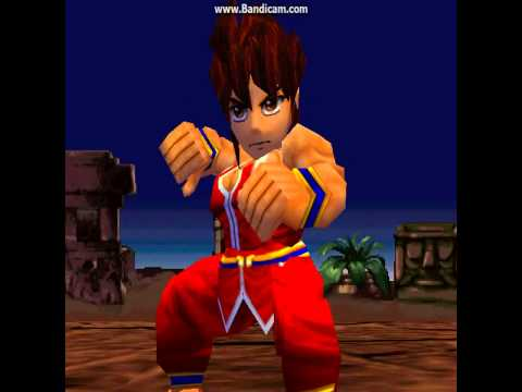 (N64) Flying Dragon aka Hiryu no Ken - SD mode battle circuit
