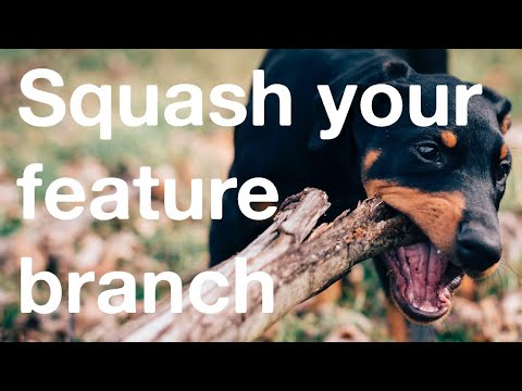 Squash Your Feature Branch Before A Fast-forward Merge! Git Rebase --interactive Or Git Reset --soft