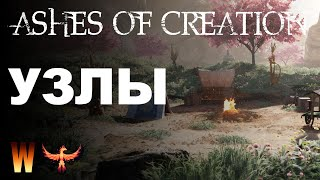 Ashes of Creation Подкаст №2: Узлы