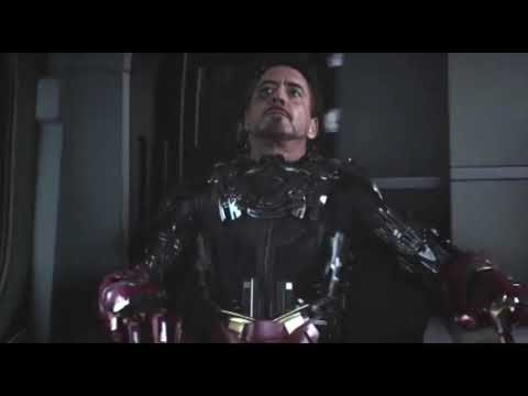 Tony Stark Iron Man Mark 46 Suit Up Slow-Motion Captain America: Civil War
