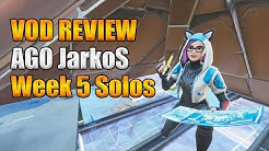 VOD Review: AGO JarkoS from Week 5 World Cup [Solos]