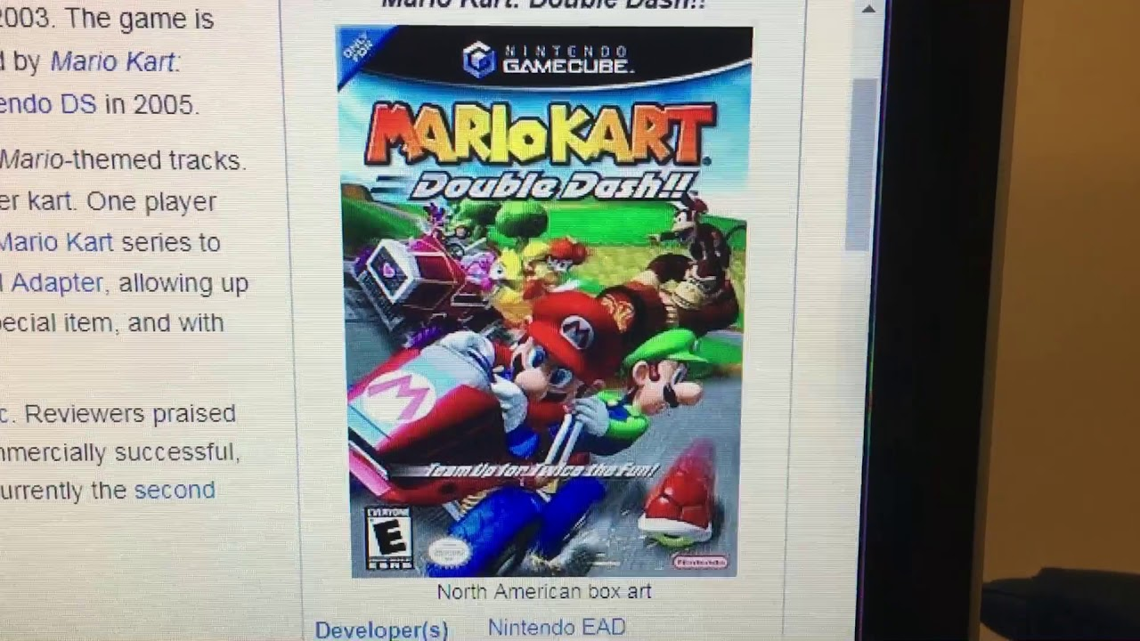 Happy 15th Anniversary To Mario Kart Double Dash In The Us And Canada