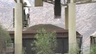 Loading The Gravel Train At Cabazon