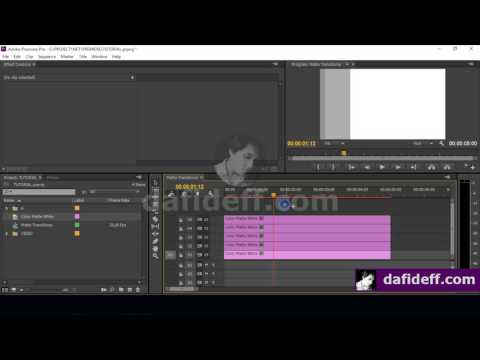 How To Make Your Own Linear Wipe Matte Transition In Adobe Premiere