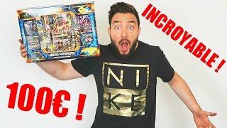 Ouverture d'un Coffret Pokémon a 100 EUROS INCROYABLE !!
