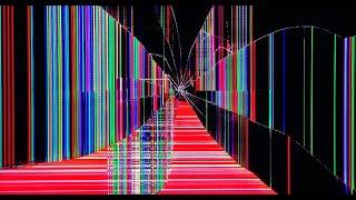 Broken TV Screen cracked effect REAL motion & electric shorts screenshot 2