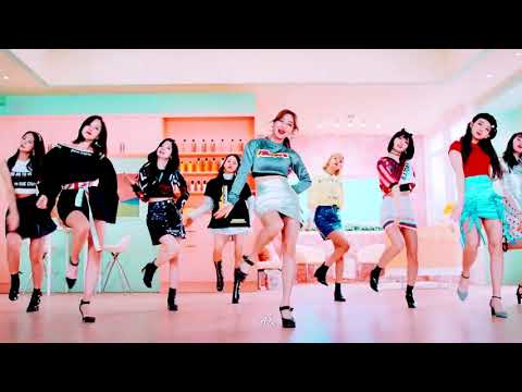 TWICE in sync Wake Me Up