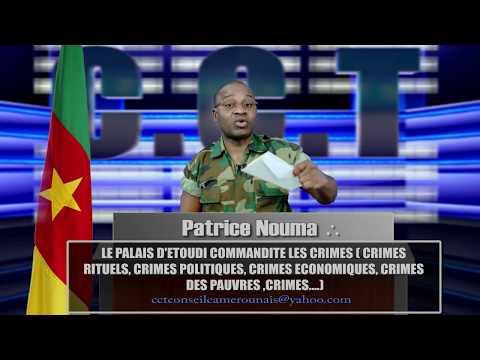 LE PALAIS D'ETOUDI COMMANDITE LES CRIMES   PART 1