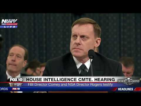 FNN: James Comey Testifies about Russian Interference in Election, Wiretap Claims (PART 2)