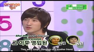 PART 2. On a talk show called CIDER, Minwoo talks about his journey...