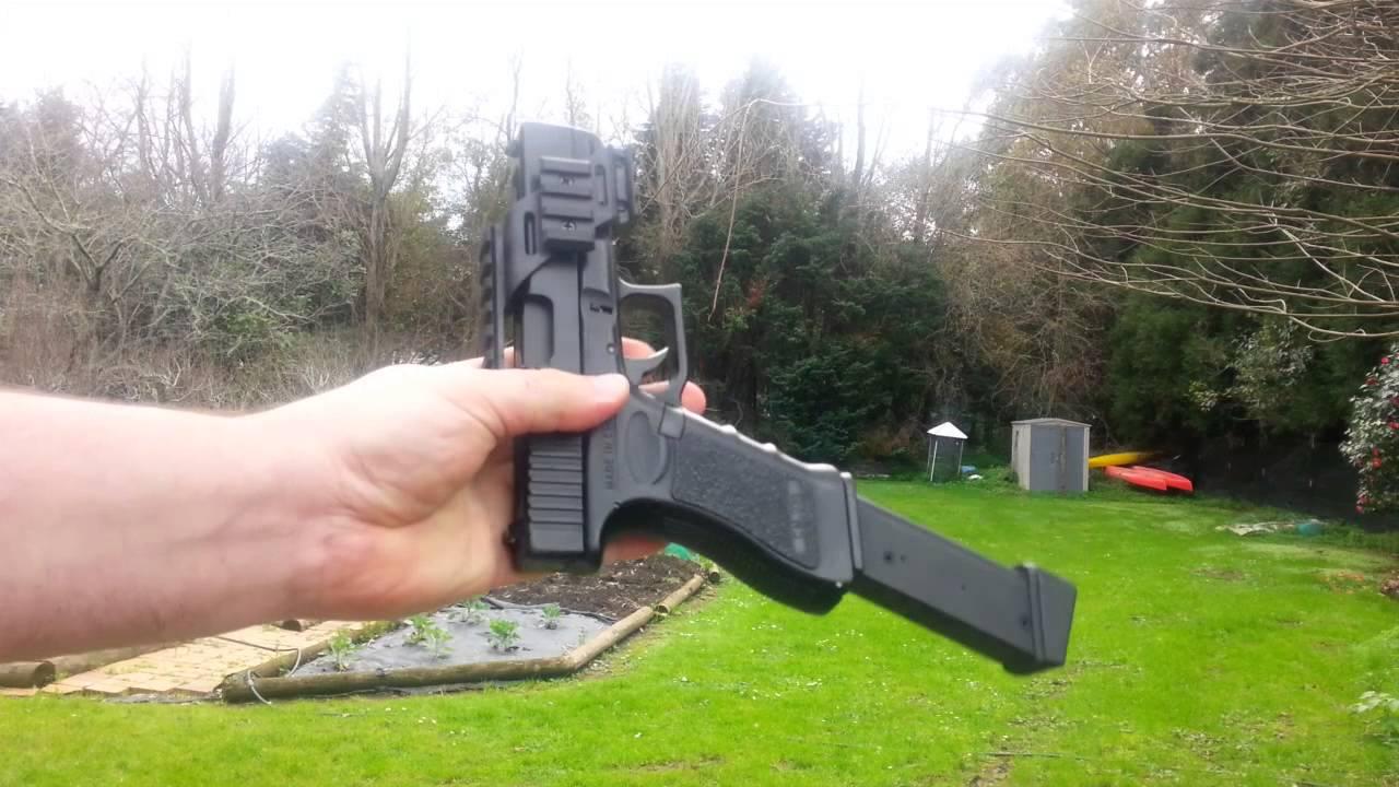 CYMA Glock G18c AEP - Lipo and Mosfet