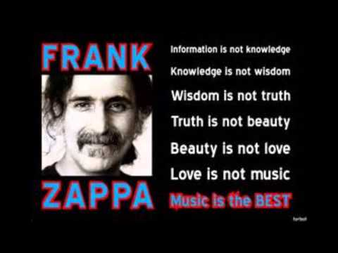 music is the best frank zappa youtube. Black Bedroom Furniture Sets. Home Design Ideas