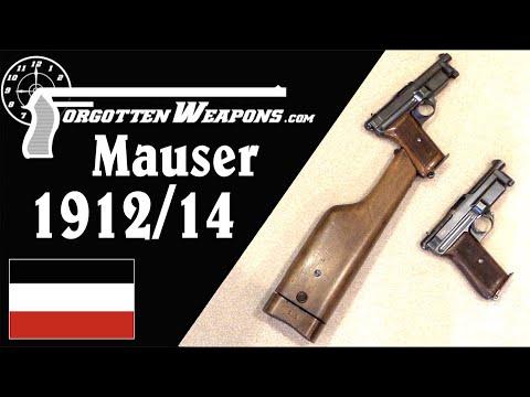 Mauser 1912/14: Flapper-Delayed Blowback