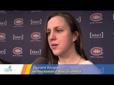 2016-Entrevue Marie-Philip Poulin et Lauriane Rougeau